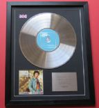 TOM JONES - The Collection CD / PLATINUM LP DISC